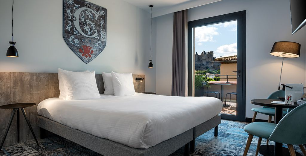 Soleil Vacances Hotel Les Chevaliers 4* Carcassonne