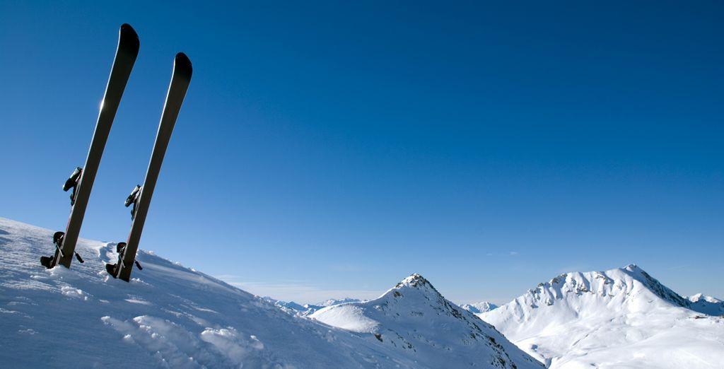 Practique su deporte favorito a 1850 metros de altitud