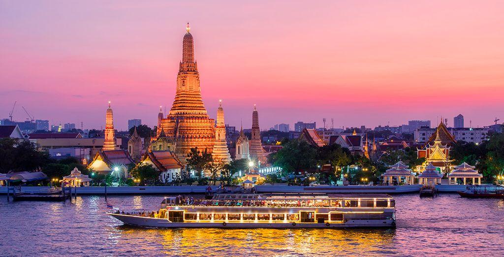 La capital tailandesa te maravillará