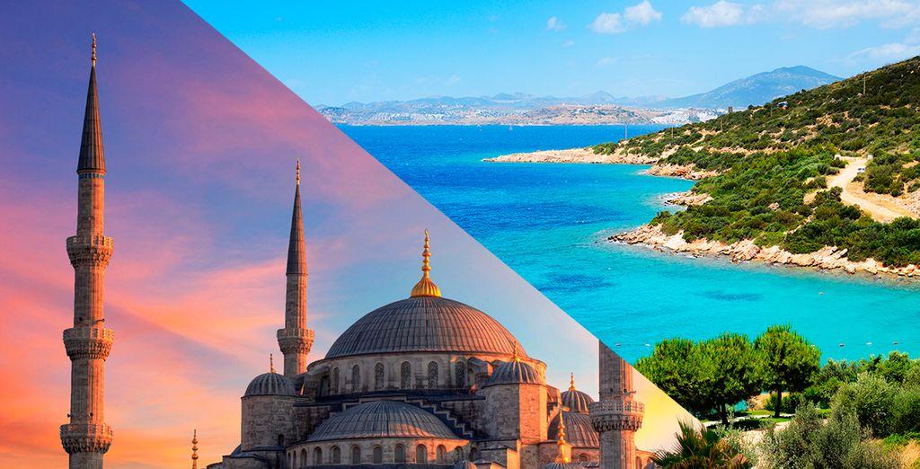 Un combinado por Estambul y Bodrum