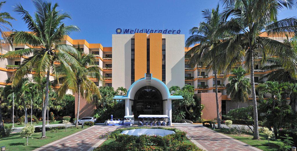 Primera parada de sus vacaciones en Hotel Meliá Varadero en Varadero