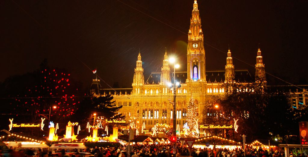 Época ideal para recibir con alegría previa la fiesta más bella del año en Viena