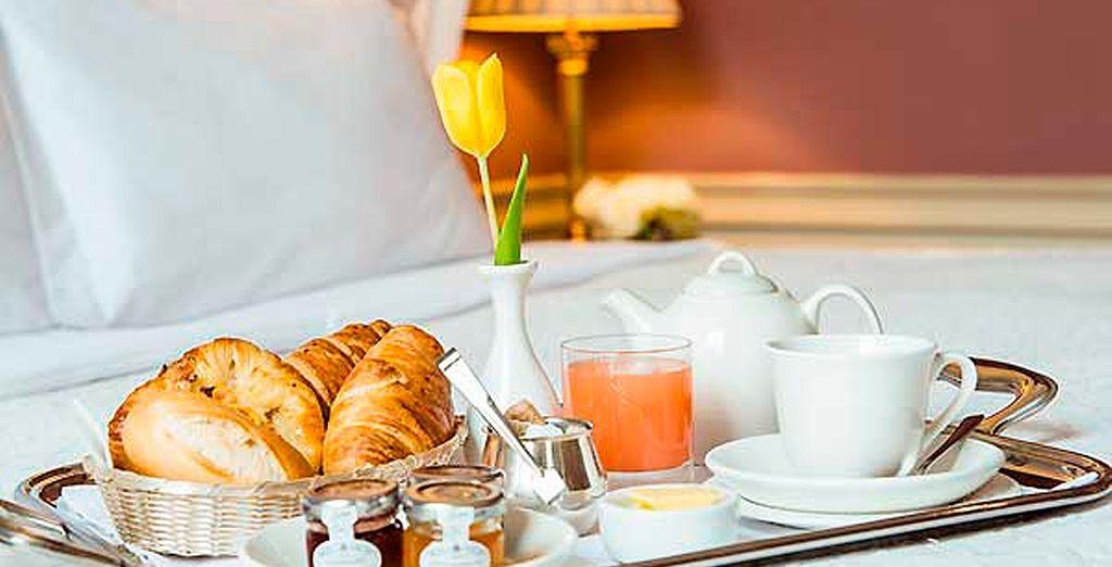 Empiece bien el día con un buen desayuno