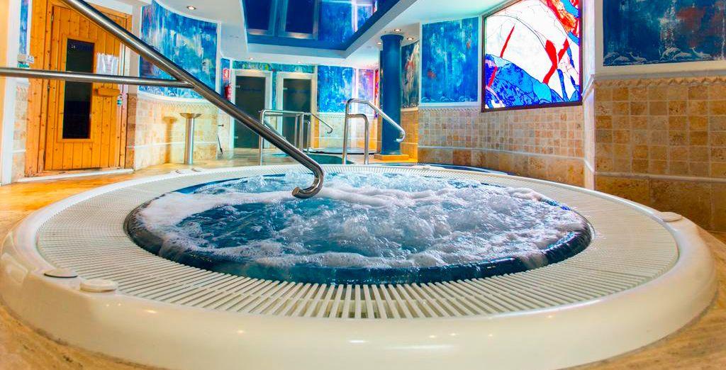 Disfruta del relax en el spa