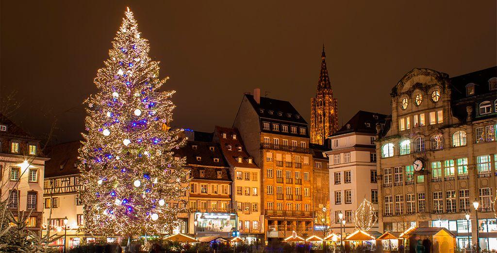Estrasburgo es una pequeña ciudad encantadora