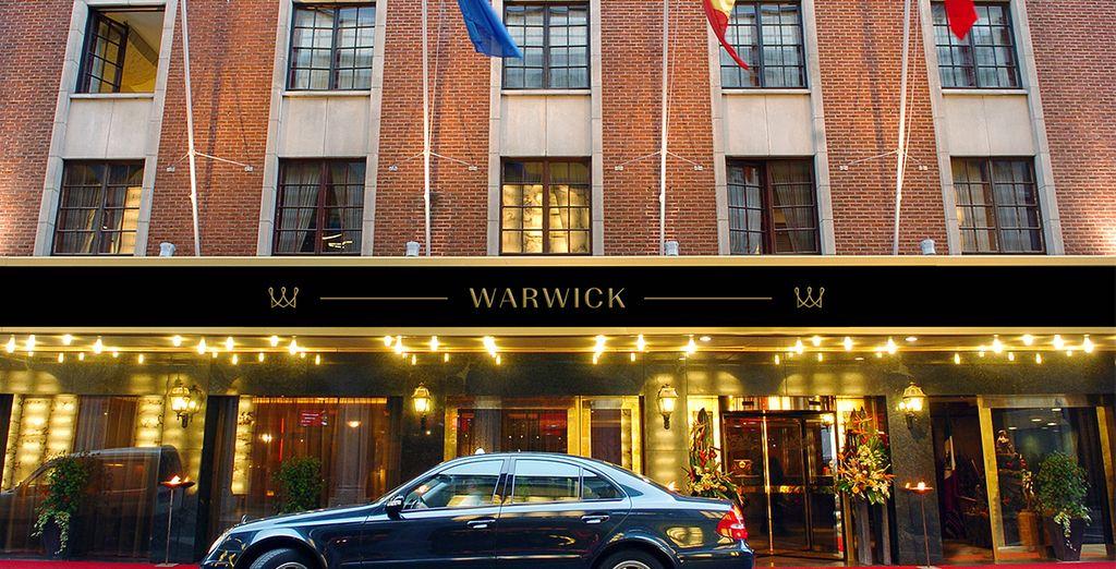 ...en el Hotel Warwick Brussels - Grand Place 5*
