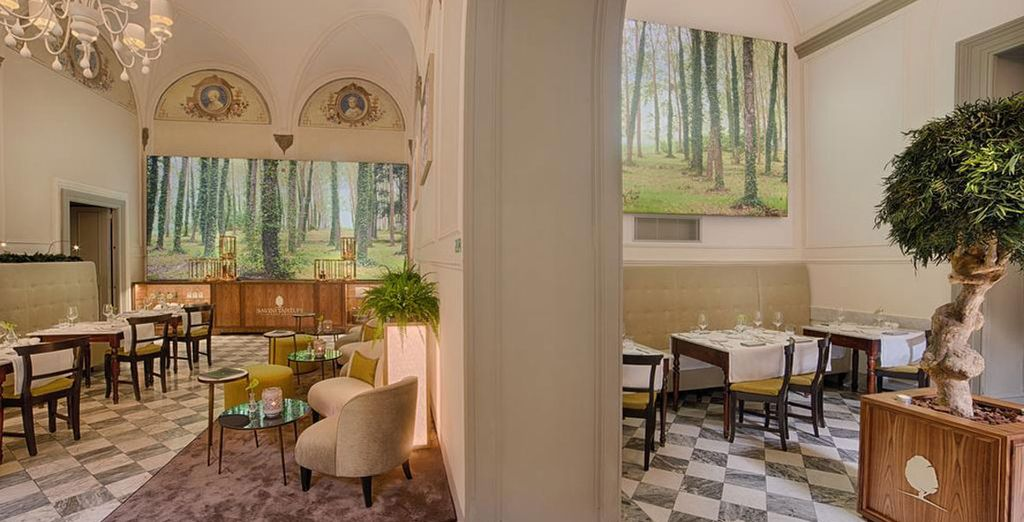 Prueba las trufas selectas y los platos típicos de la Toscana en su restaurante