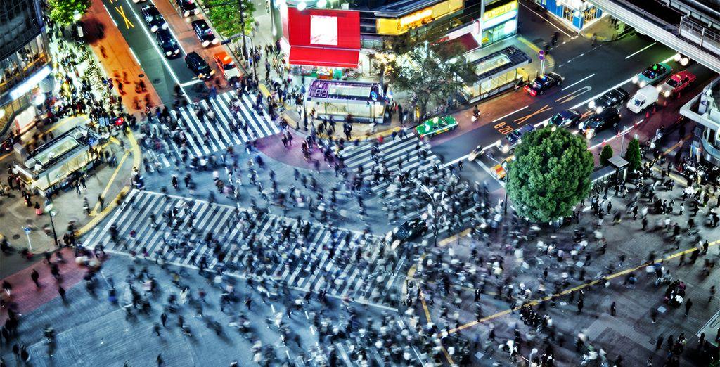 Cruce en Shibuya, Tokio