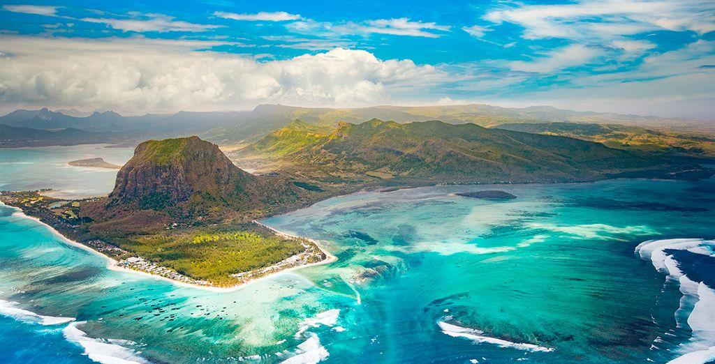 Una isla de belleza extraordinaria