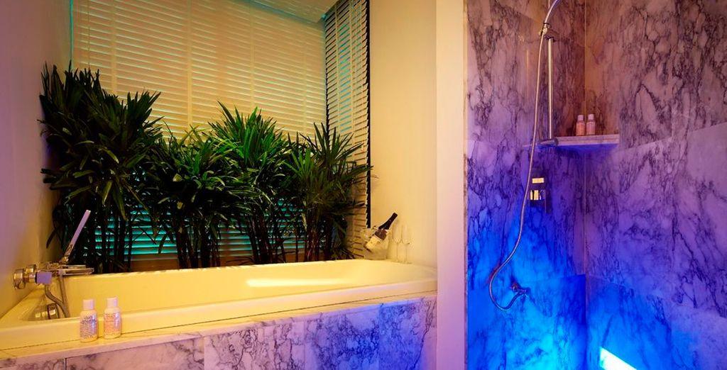 Baños modernos totalmente equipados