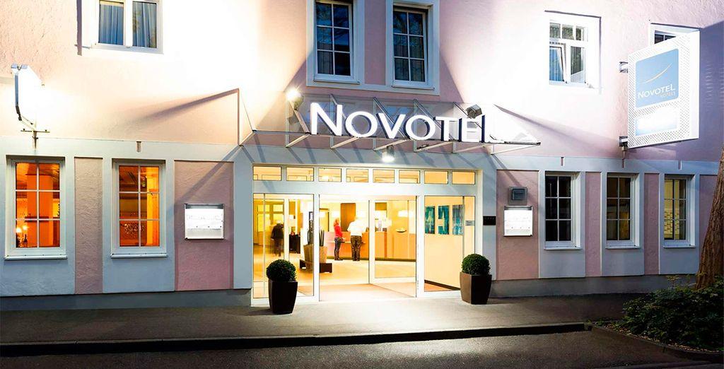 Tu estancia en Würzburg la pasarás en el Novotel Würzburg 4*
