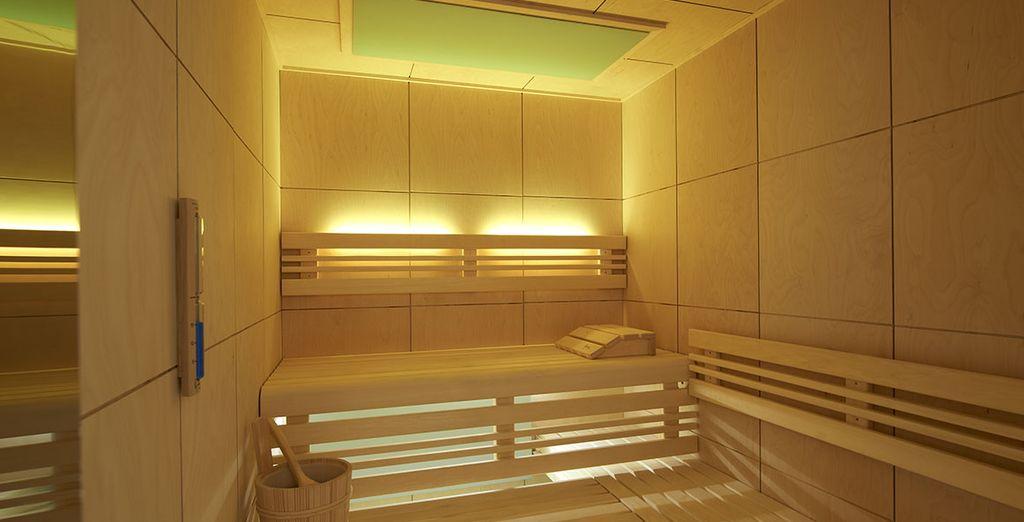 Relájate en la sauna y desconecta cuerpo y mente de la rutina