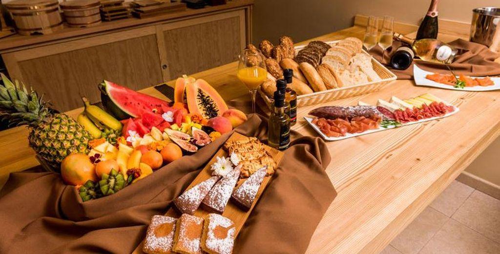 ¡Tienes el desayuno incluido!