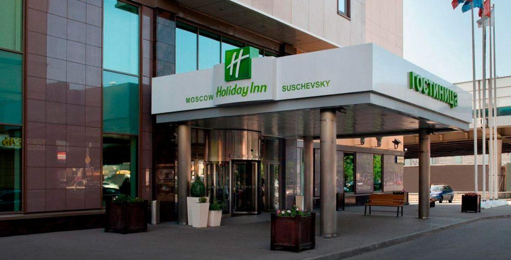En Moscú te alojarás en el Holiday Inn Moscow Suschevsky 4*