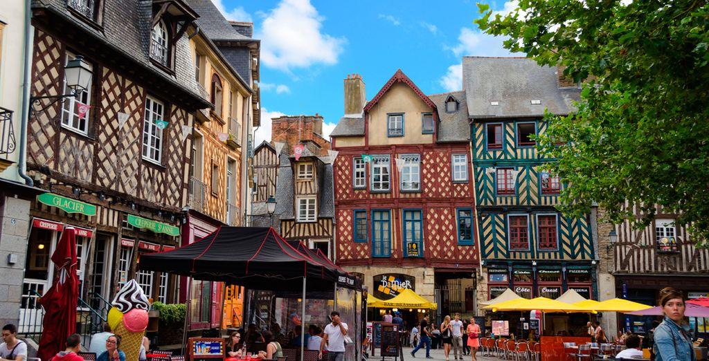 Visite Rennes, le encantará