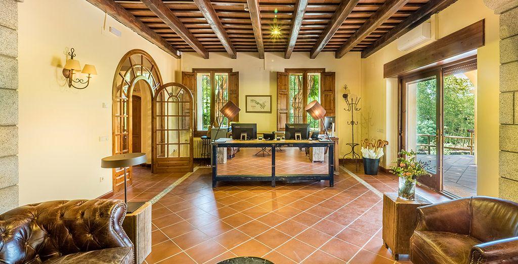 El Hotel Mas Salagros Eco Resort te da la bienvenida