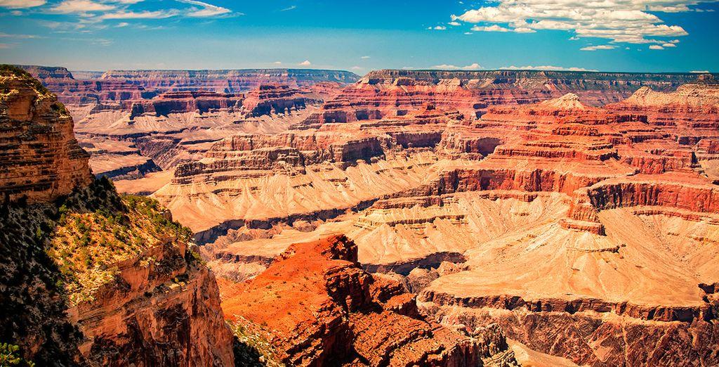 El Gran Cañón, considerado una de las maravillas naturales del mundo