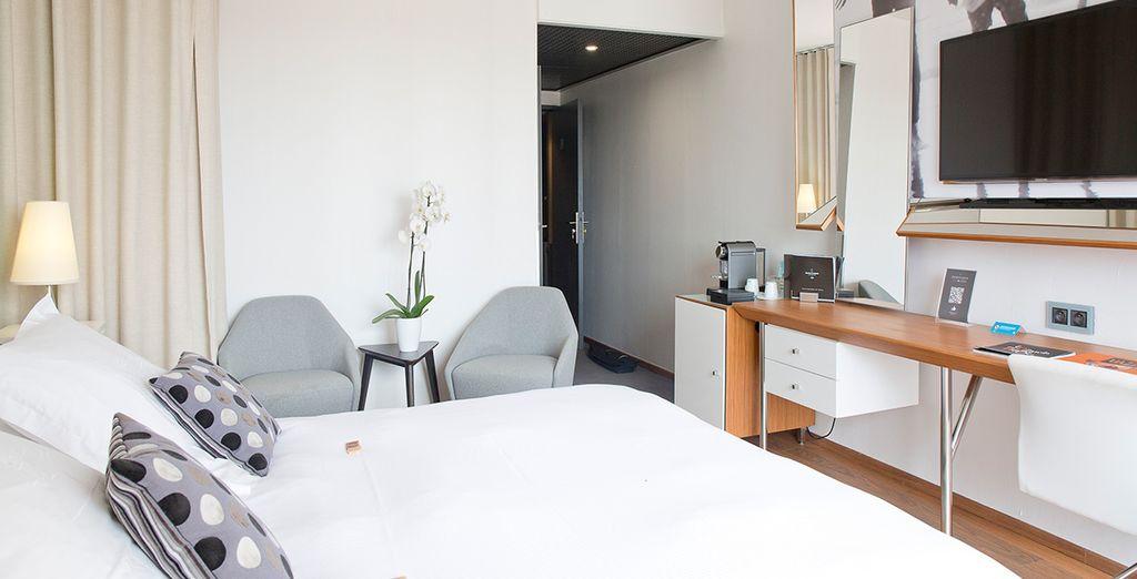 Te presentamos tu habitación Confort