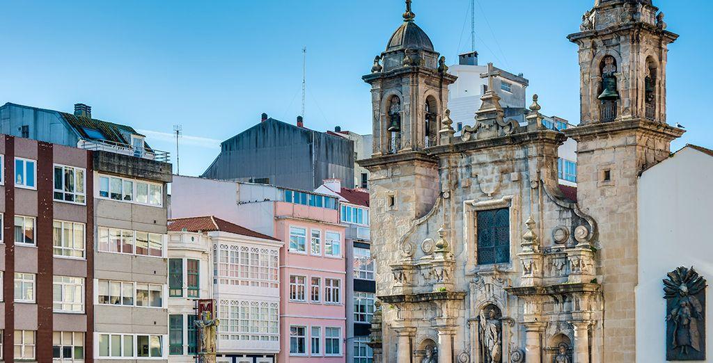 Podrá acercarse a la vecina A Coruña