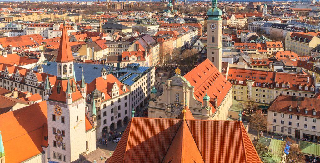 Descubra Múnich, la capital de Baviera