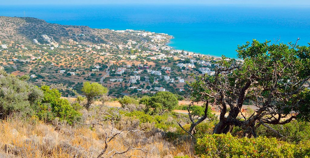 La costa del mar Egeo te encantará