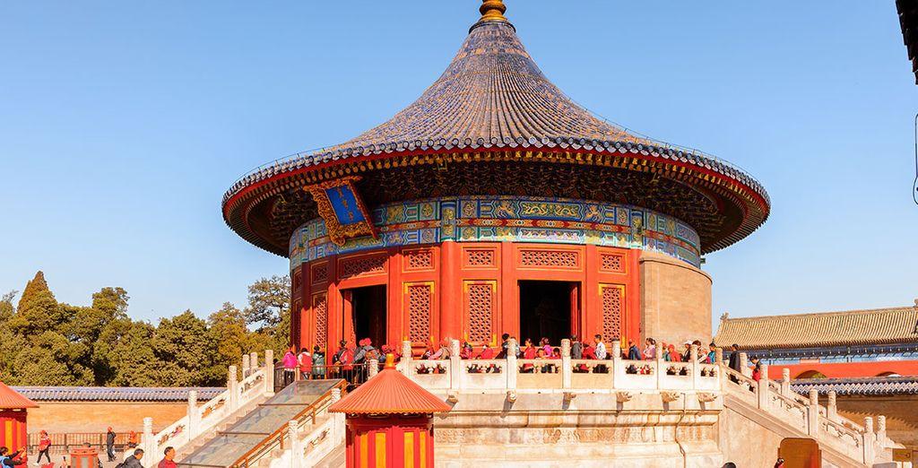 Pasarás también por el Templo del Cielo, construido en 1420