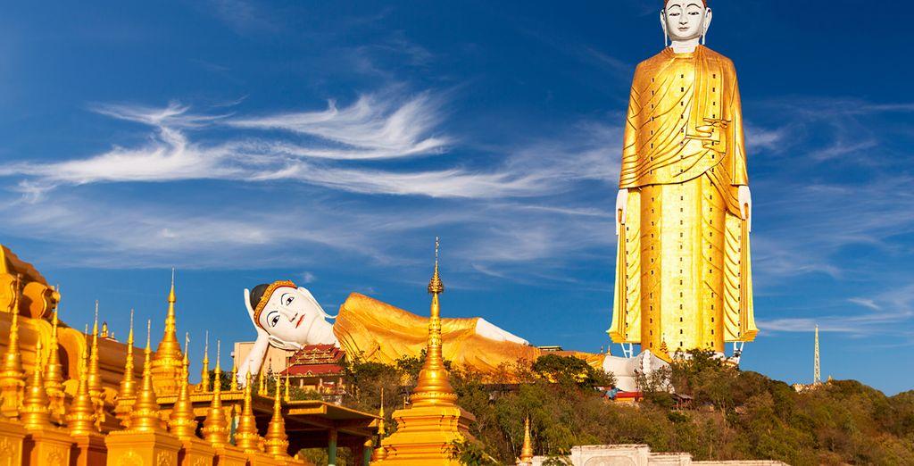 Visite el templo Thanbode, le sorprenderá por su misticismo y belleza