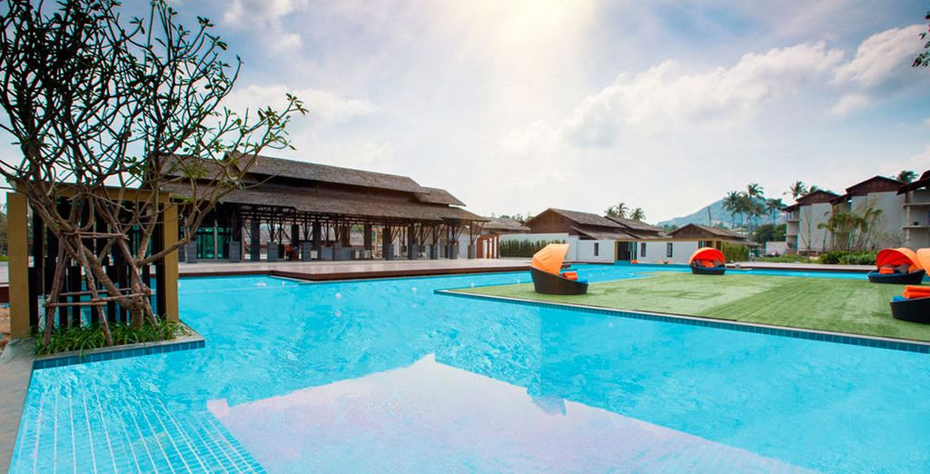 Baywater Resort Koh Samui 4* te da la bienvenida