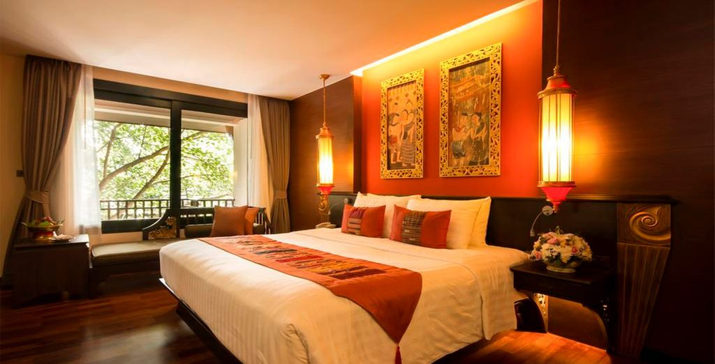 Tu habitación Superior en Hotel Siripanna Villa Resort Chiang Mai 5*