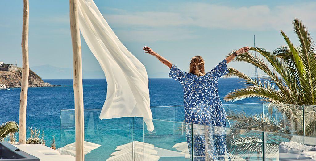 Vuelo más hotel a Mykonos, viajes y vacaciones en Grecia en las Islas Cícladas con Voyage Privé