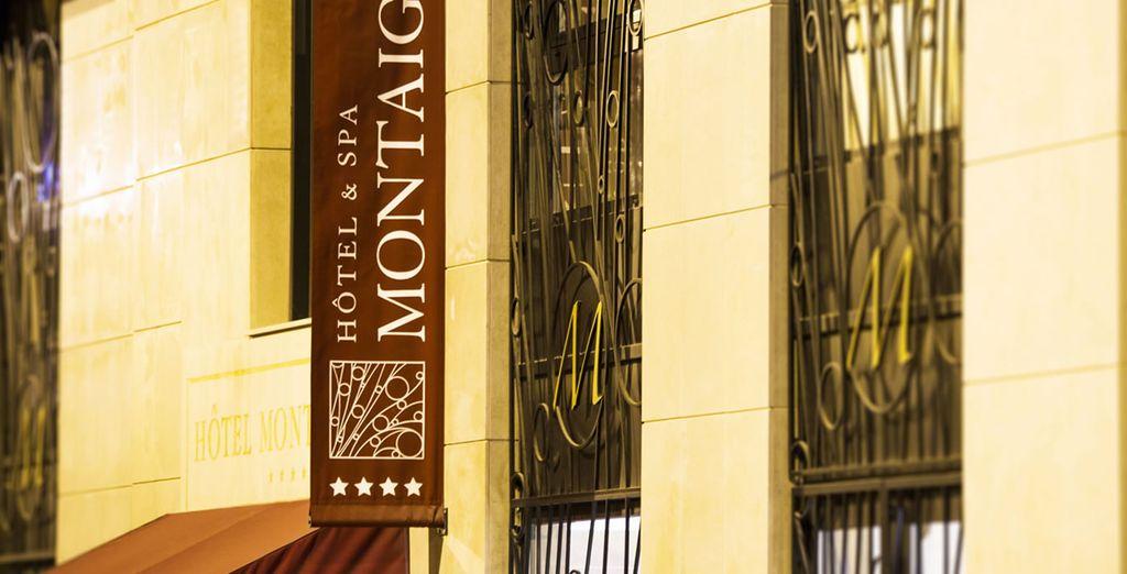 Bienvenido al Hotel Montaigne & Spa