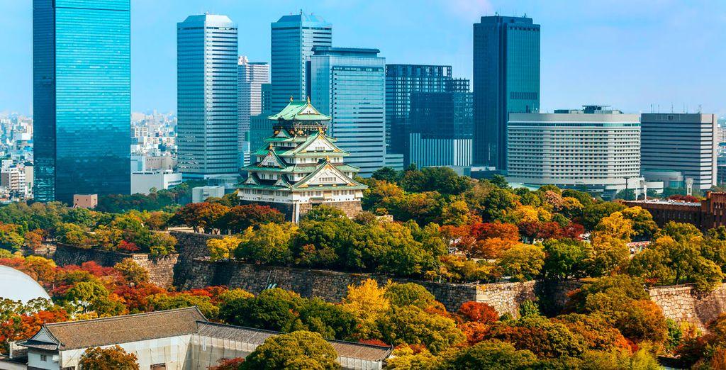 Tu primera parada en Japón sera Osaka