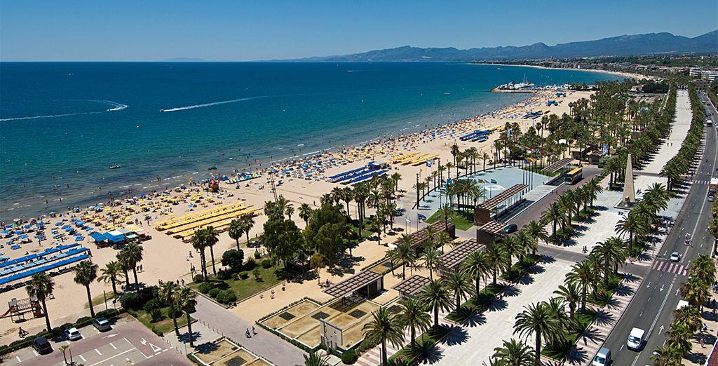 Largas playas para unas vacaciones ideales