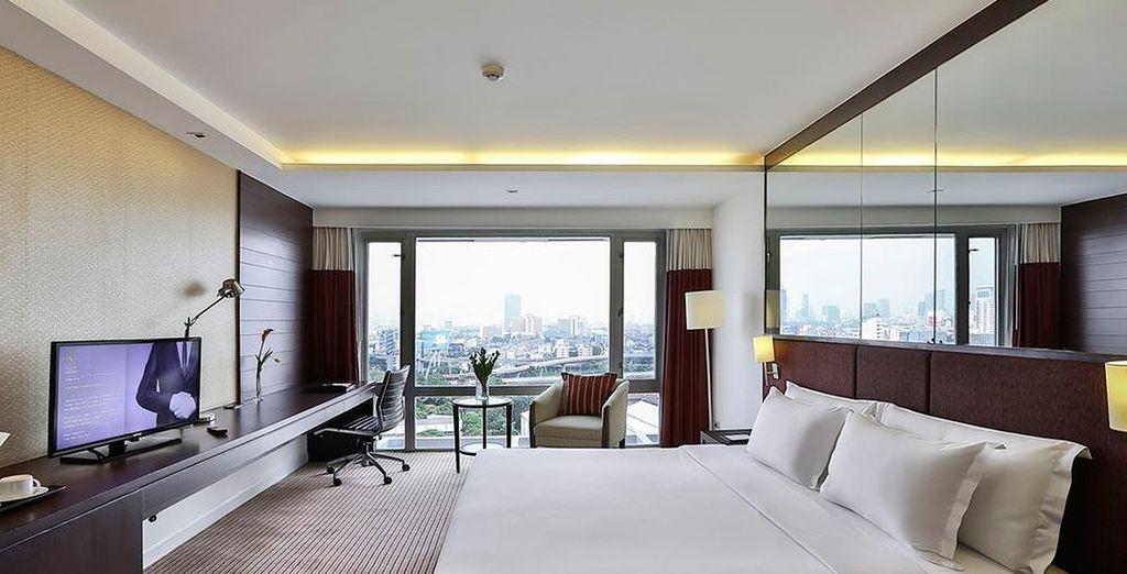 En Bangkok descansará en su habitación Superior en Eastin Hotel Makkasan 4*