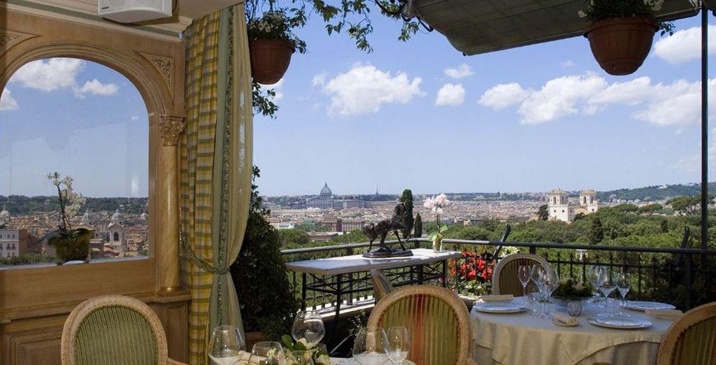 Disfrute de la auténtica Roma