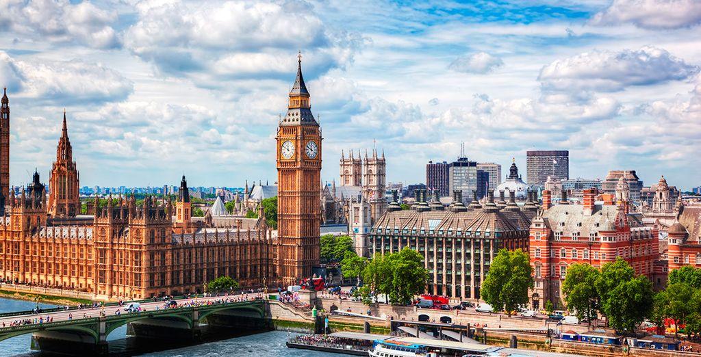 Las vistas desde el London Eye son espectaculares