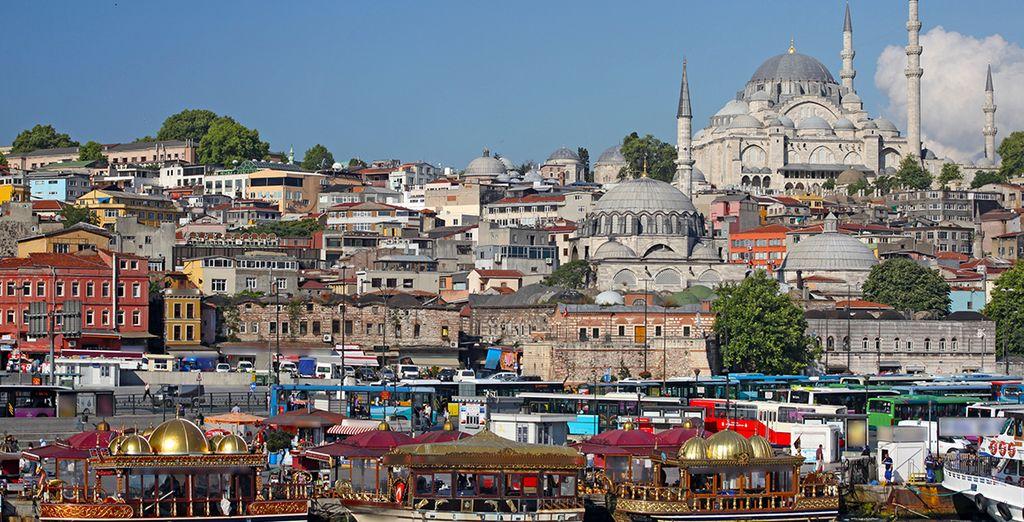 Estambul se presenta como una ciudad palpitante