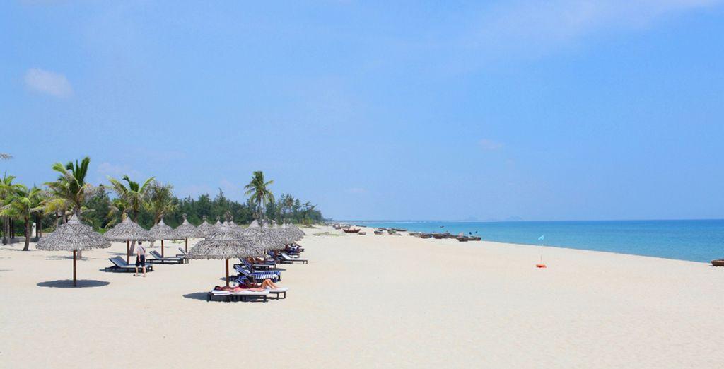 Un complejo situado ceca de la Playa de Cua Dai
