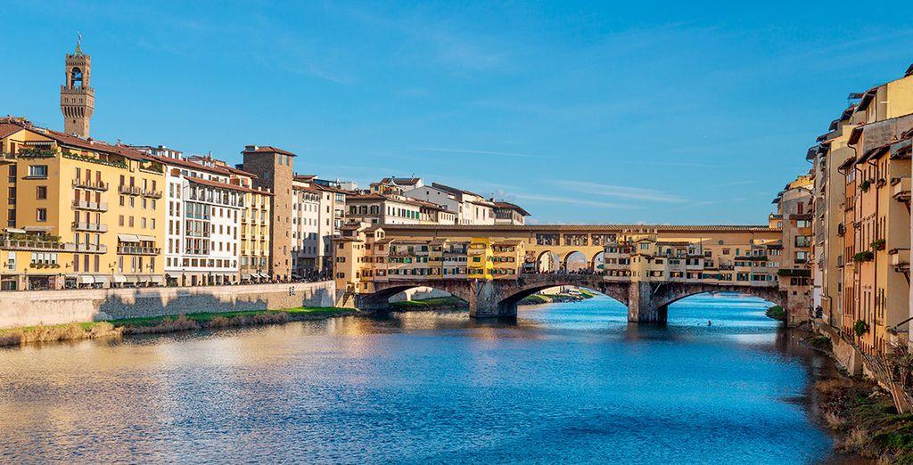 Ponte Vecchio es uno de los iconos de la ciudad florentina
