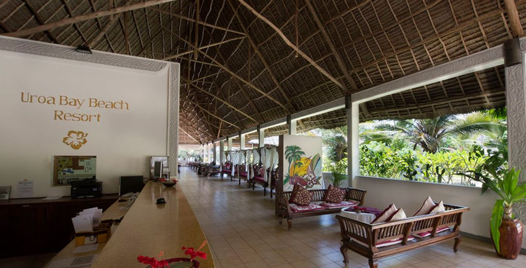 Uroa Bay Beach Resort le recibirá como se merece