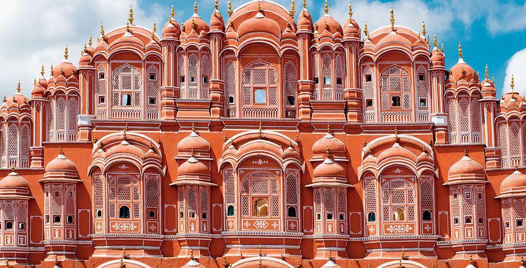 Su viaje continuará hacia Jaipur, la ciudad rosa