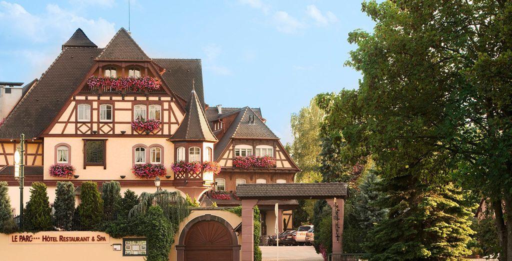 Bienvenido al Hotel du Parc Obernai