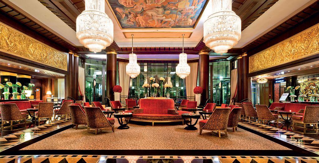 Alójese entre la elegancia del Hotel Du Collectionneur