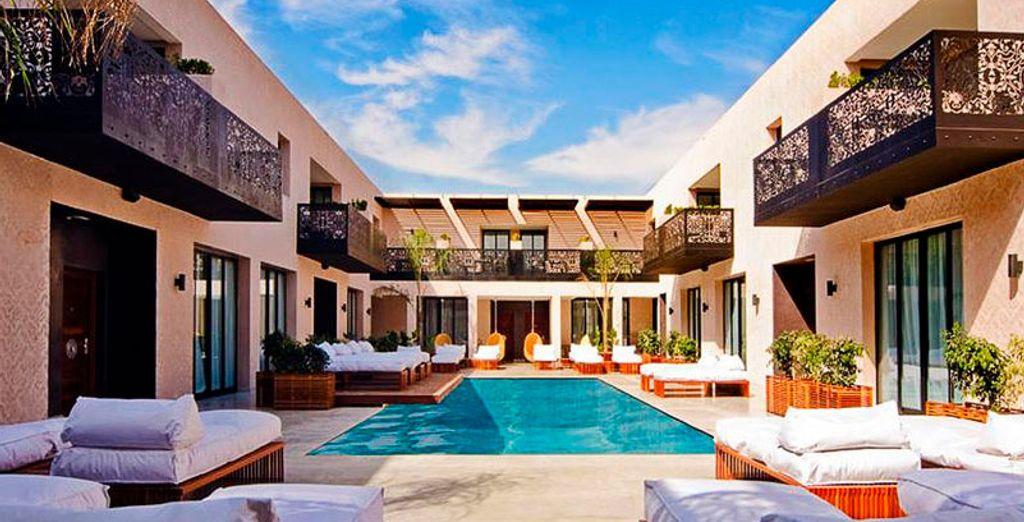 Un oasis de paz y tranquilidad en Marrakech