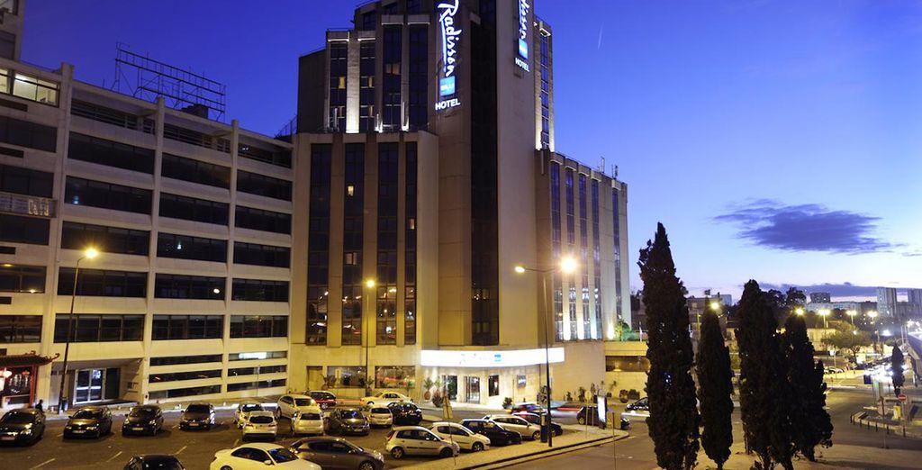 Bienvenido al Radisson Blu Lisbon 4*
