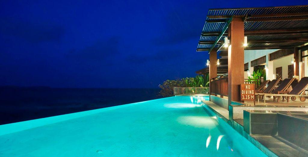The Sarann, una íntima villa frente al mar