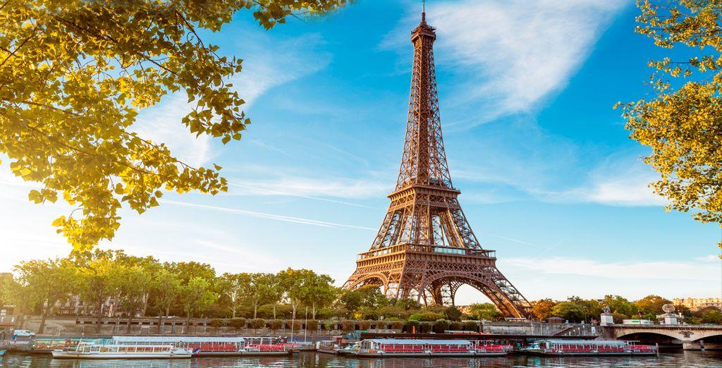 Le deseamos una excelente estancia en París