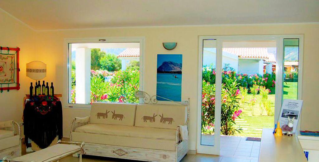 Interiores amplios y confortables que le harán sentirse como en casa