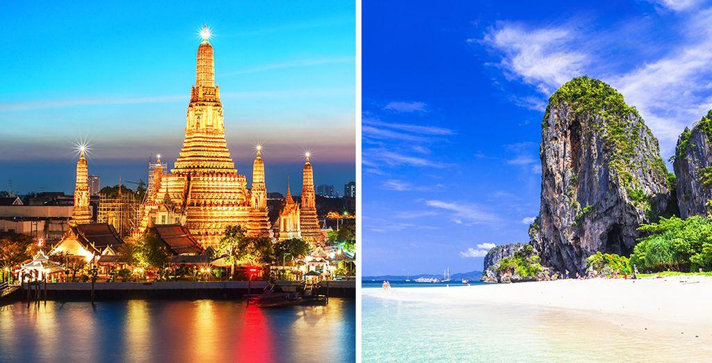 Una extraordinaria experiencia que te llevará a la increíble Tailandia
