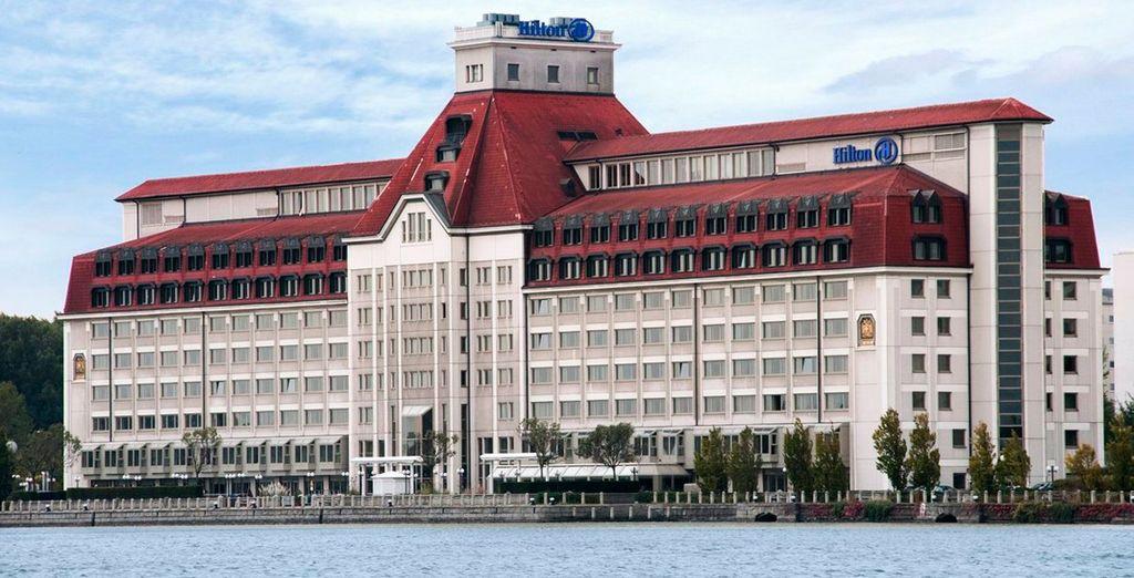 El hotel Hilton Danube Waterfront es la mejor opción para su estancia en Viena
